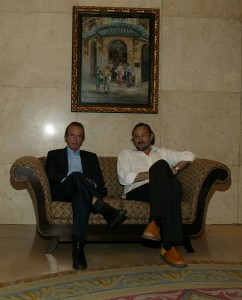 Martin Amis y Miguel Munárriz